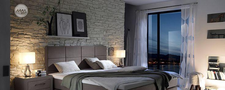 Stylowe łóżka kontynentalne Boxspring #lozkatapicerowane #stylowelozka #lozkaboxspring #lozka #lozko #lozkadosypialni #lozkomalzenskie #lozkakontynentalne