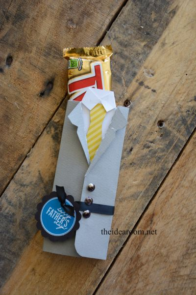 Father's Day Candy Bar Wrappers  by MichaelsMakers The Idea Room
