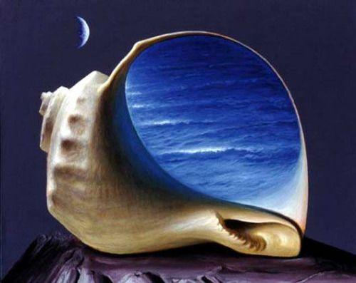 "surrealismart: ""  Sound of the Sea (?) Sabin Balasa """