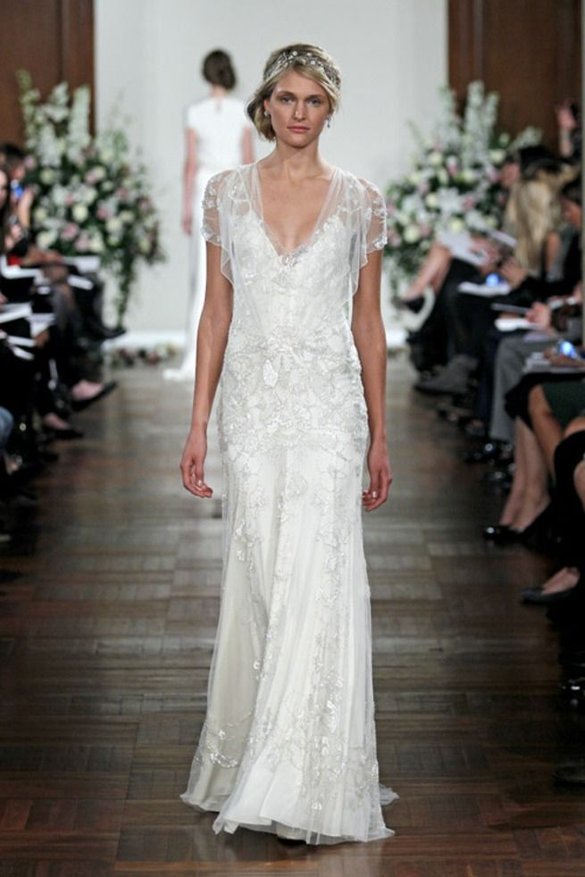 109 best 1920\'S INSPIRED BRIDAL GOWNS images on Pinterest | Bridal ...