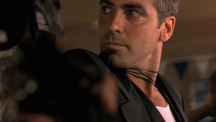 """Seth Gecko.  bank robber.  George Clooney.  """"From Dusk till Dawn"""".  turns into a good guy."""