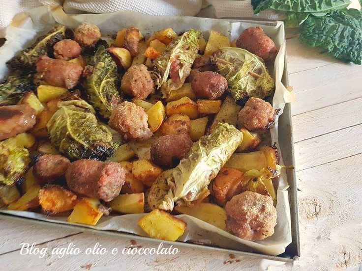 involtini di verza patate e zucca-semplici veloci e gratinate