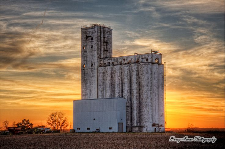 """Dayton Grain Elevator"", Dayton, Texas"