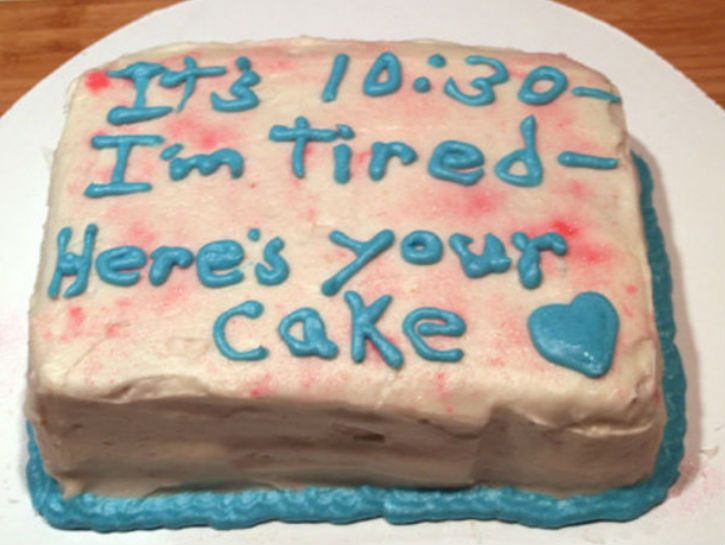 Making a cake can be hard. Even harder is when you have a cake made for you, and can't even figure out how to tell them what you want properly. Check out these hilariously bad cake fails >