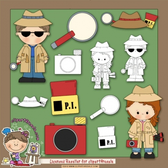 17 Best images about Clip Art...For My Police Detective on ...