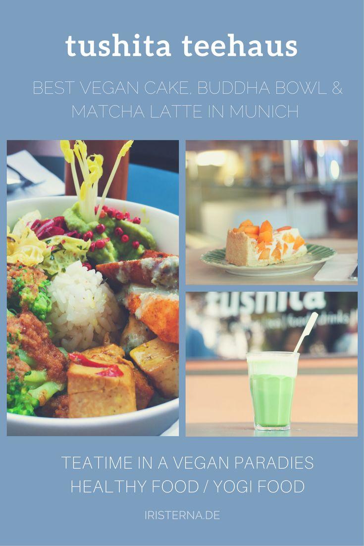 Das Tushita Teehaus im Glockenbachviertel ist wahrlich ein veganes Juwel in München und mehr als ein Ort zum Tee trinken. Das vegane Café in der Klenzeestraße ist Teeladen, Bäckerei und Deli zugleich. #glockenbachviertel #münchenfood #veganmunich #munichfood #teatime #teehausmunich #vegancake #veganmünchen #munichfoodguide #münchenessen