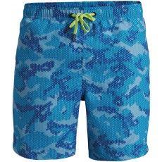 Deze Björn Borg Loose Shorts Camo #zwembroek heeft een blauwe camouflage print #dws