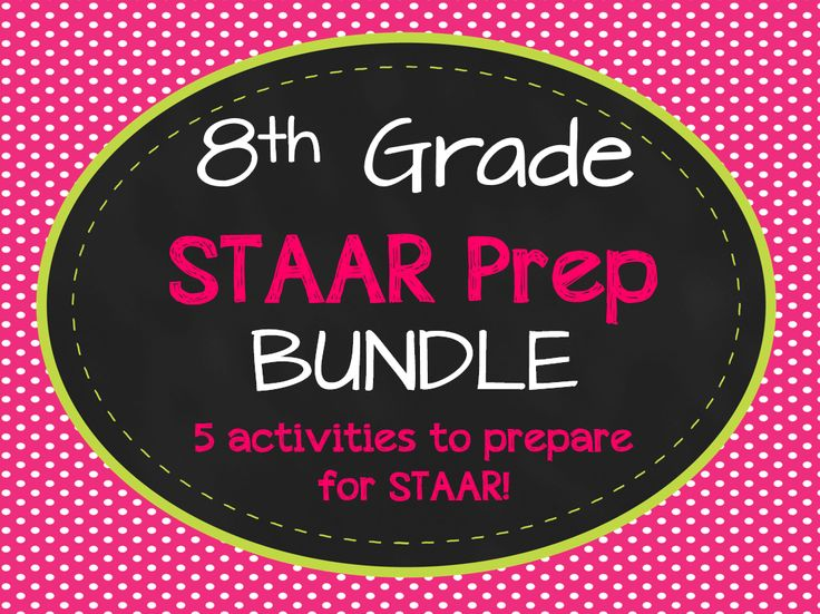 8th Grade Math STAAR Prep Bundle! 5 activities to help your students prepare for the 8th grade STAAR test.