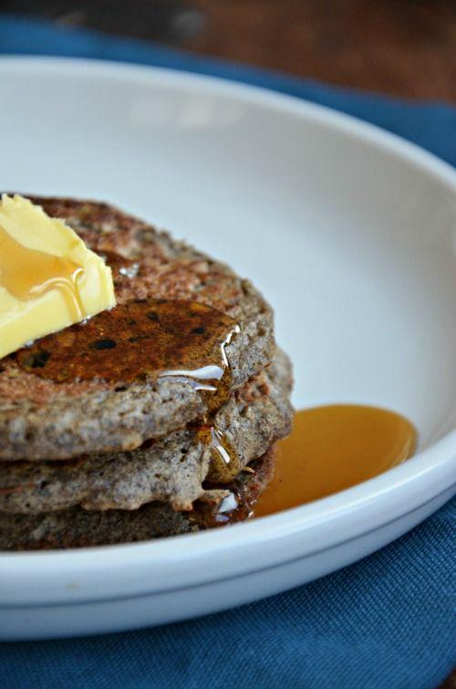 buckwheat pancakes recipe, #glutenfree #wholegrain www.mountainmamacooks.com