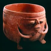 Ofrendatario donde se halló la Balsa Muisca. 600 d.C. - 1600 d.C. Pasca, Cundinamarca