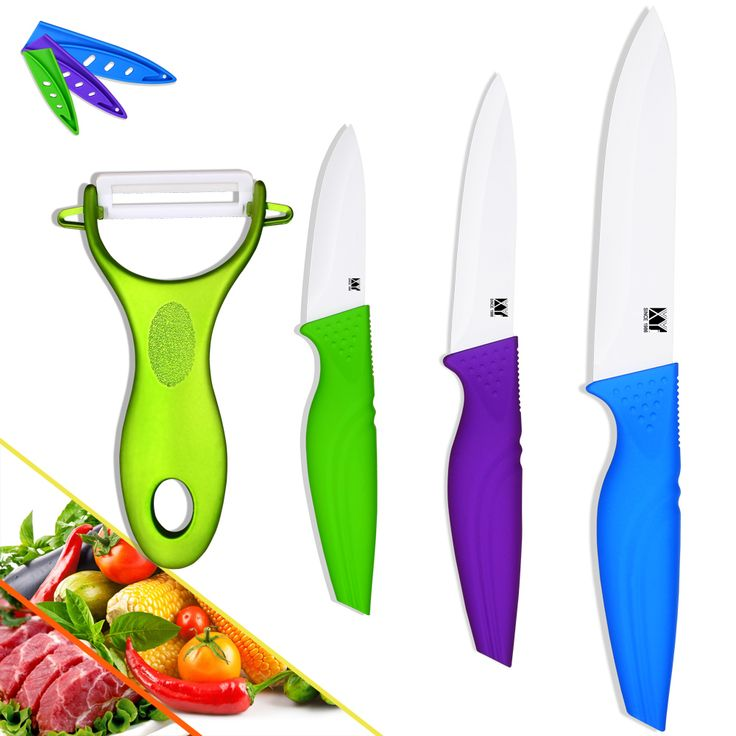 Hot penjualan keramik pisau pengupas pengupas utilitas mengiris bermutu tinggi kitchen set pisau keramik pisau dapur aksesoris memasak