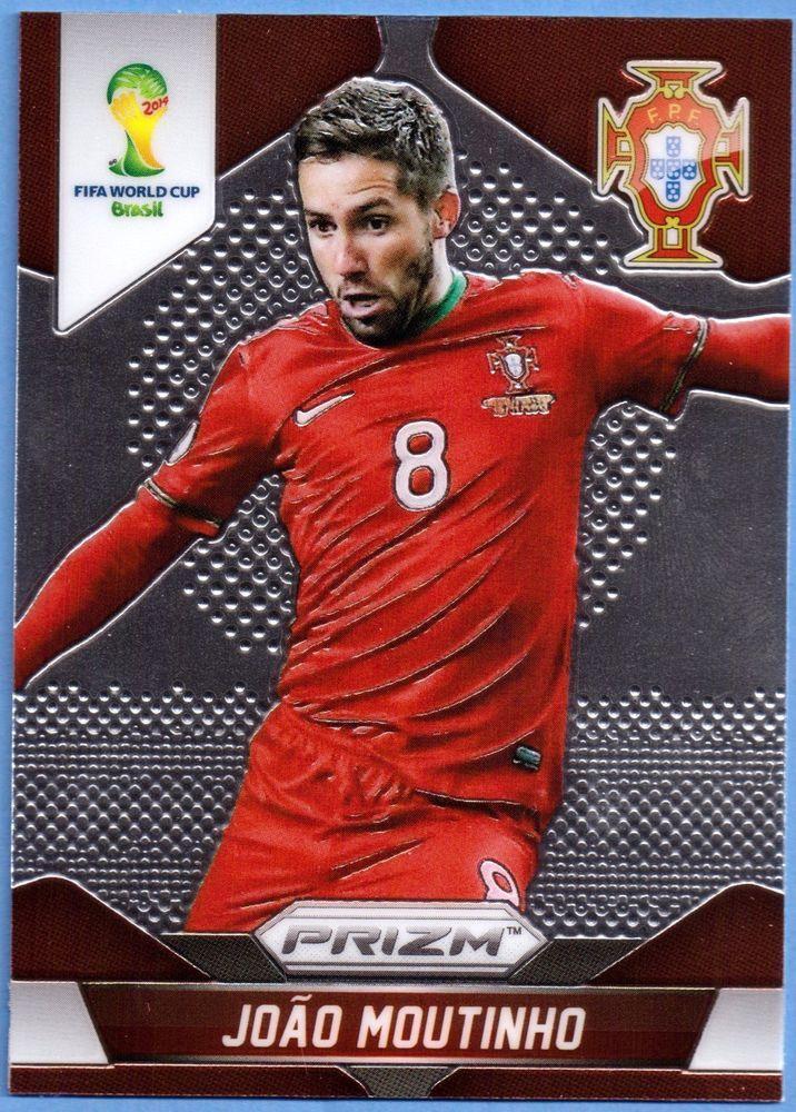Panini Prizm Fifa World Cup 2014 Brazil Karte #158 Joao Moutinho - Portugal    eBay