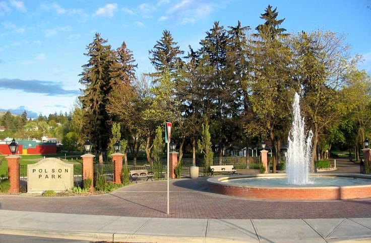 Polson Park, Vernon BC