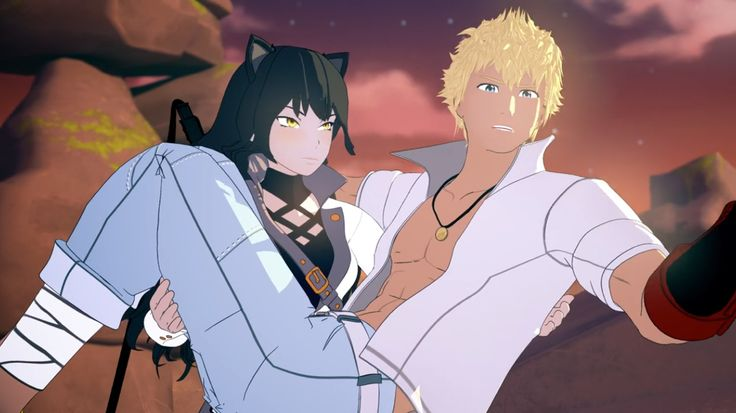 Sun's hero is Blake, and he knows it. :-) These two are so good for each other. Or at least, Sun is so good for Blake!