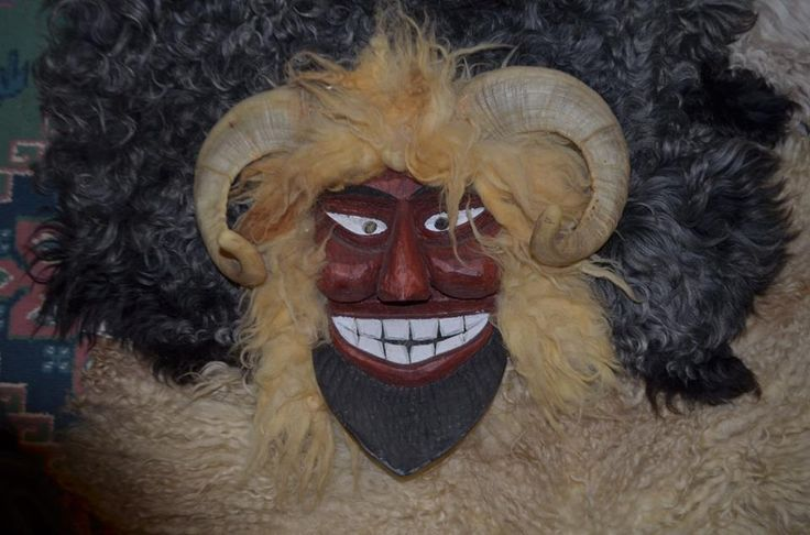 'buso' mask of Litter Gábor