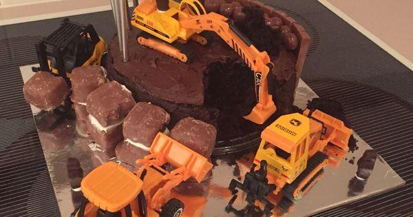 Digger cake | Cakes | Pinterest