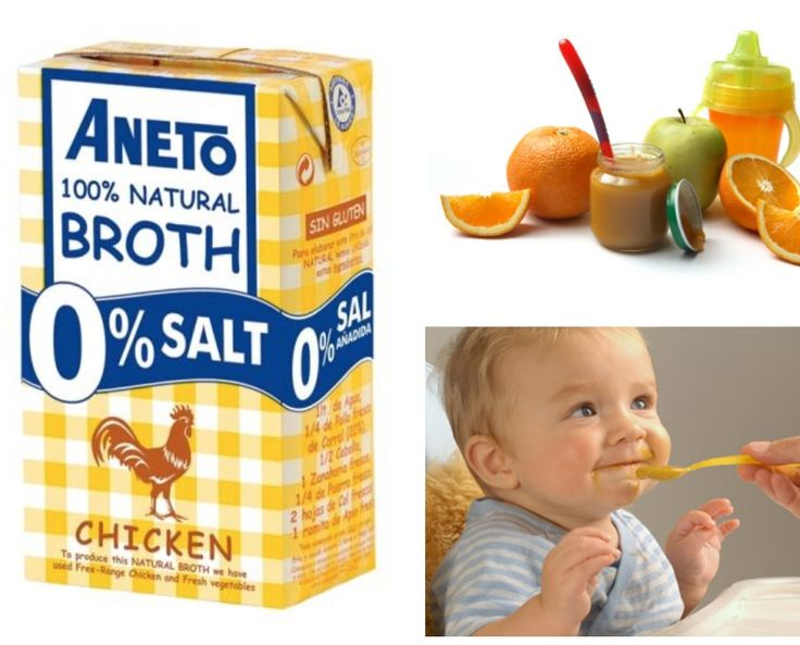 Use the Aneto natural broths to make your baby food  #Aneto #DiTerra #DiTerraExlusiveFood
