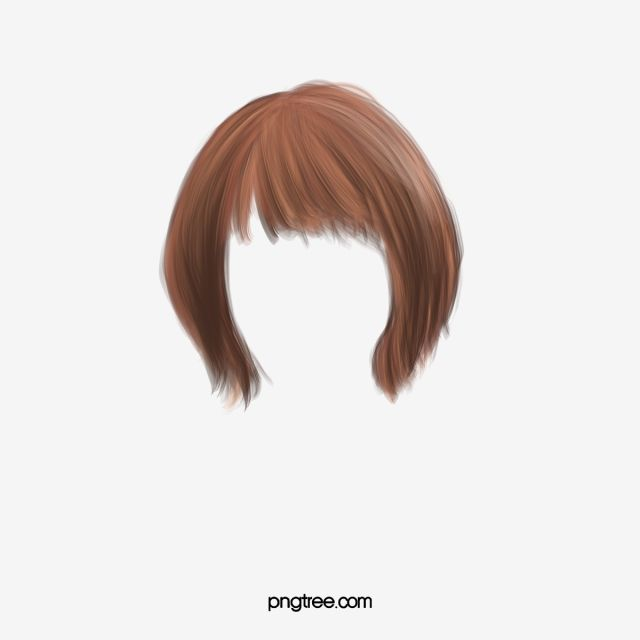 Pretty Western Style Short Hair False Hair Clip Wig Clipart Western Style Pretty Png Transparent Clipart Image And Psd File For Free Download Short Hair Styles Hair Png Hair Clips