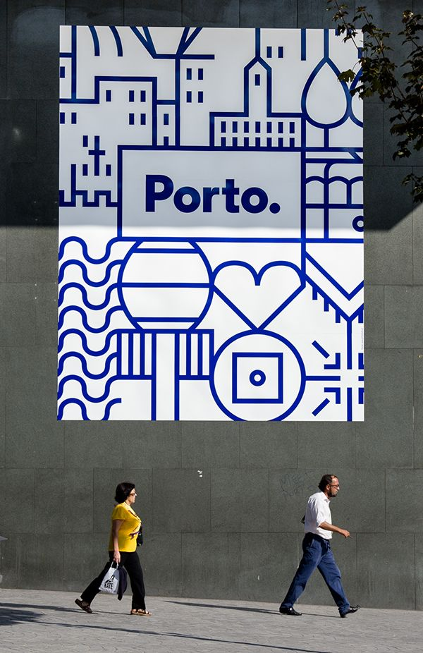 New identity for the city of Porto on Behance
