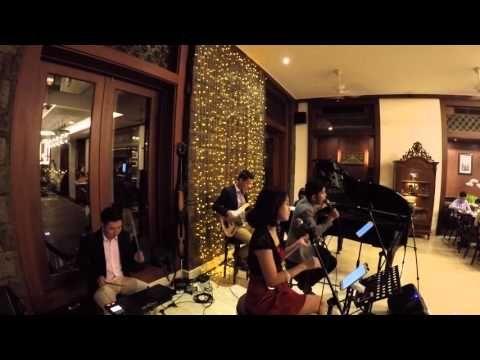 WEDDING BAND BALI - GLO Band Bali at Awarta Villa Nusa Dua - YouTube