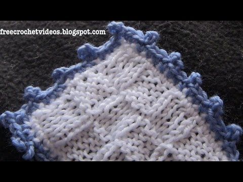 Crochet Stitches Picot Edging : Crochet Picot Edging Crochet stitches, methods, techniques and tut ...