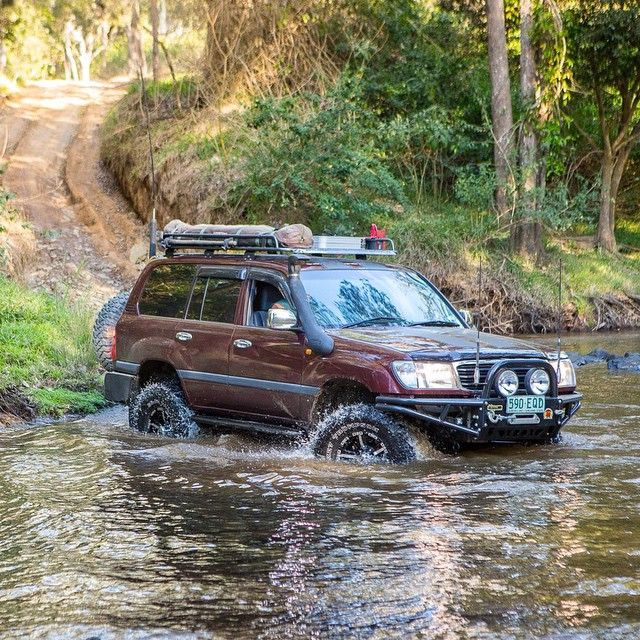 toyota land cruiser 100 series | off road, 4x4, travel, overland