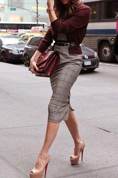 Юбка плюс обувь: подбираем сочетания для юбки-карандаш