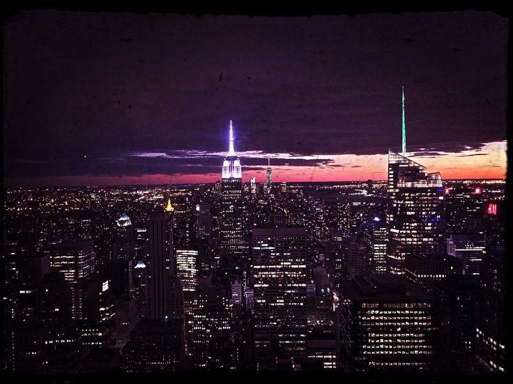 Up high above New York - Oct 2014