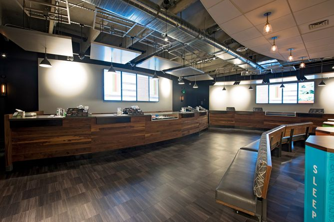 Custom cannabis retail and cultivation products greenhaus industries dispensary interior - Cannabis interior ...