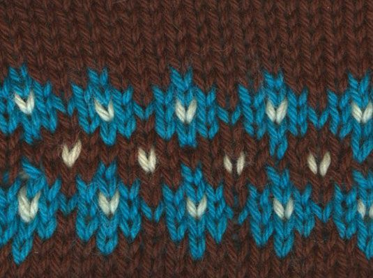 139 best Knitting-Color-Stranded-Fair Isle-Intarsia... images on ...