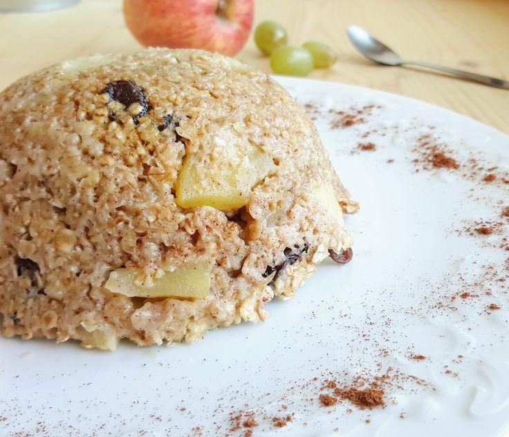Grande amatrice de l'association pomme/raisins secs/cannelle , impossible pour moi de ne pas tenter cette association dans le roi du petit déjeuner : le bowlcake ! Ingrédients pour 1 bowlca…