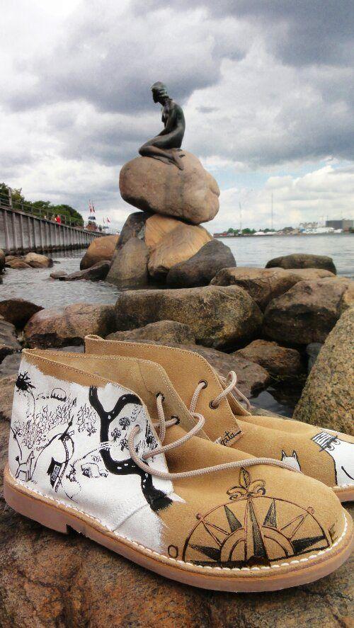 Las alpARTgatas de Nick han visitado a la sirenita de Copenhague!!! ¡Qué envidia!
