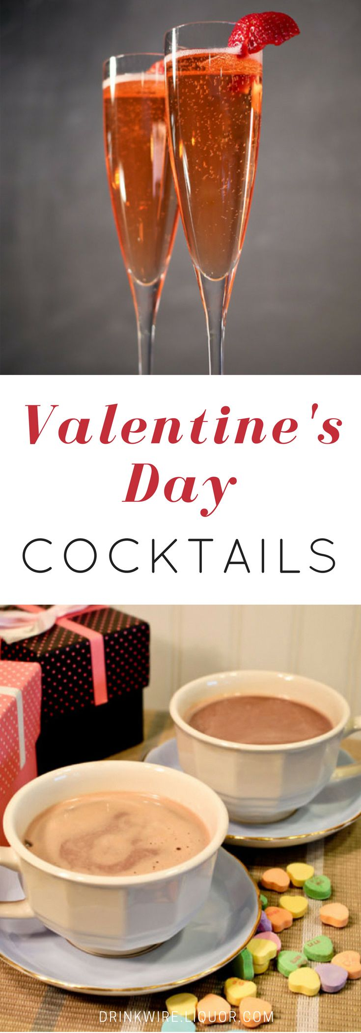 Cocktails and chill? Bookmark this for a variety of Valentine's Day cocktail recipes.