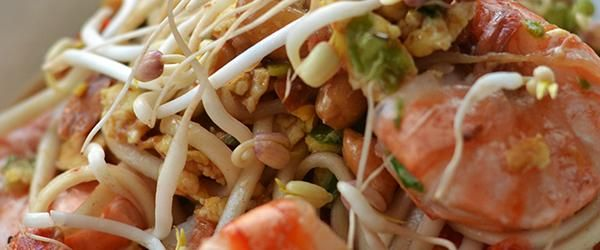 Thaise noedels met gamba's - OhMyFoodness Blog Archive » OhMyFoodness
