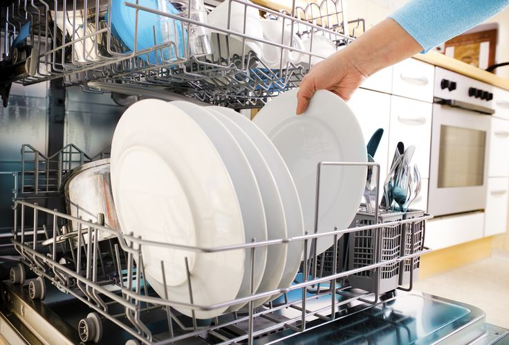 Cleaning Tips   To clean and deodorize your dishwasher try adding a cup of vinegar to your empty dishwasher and run the cycle. Also add vinegar to the rinse dispenser instead of jet dry for streak free dishes.