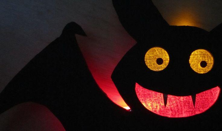 Как Сделать Ночник Хэллоуин Летучая Мышь