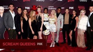 The Scream Queens premiere party was too fun!