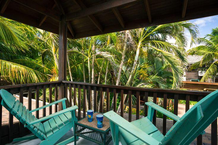 Bananarama Resort: #6 (King Garden Cabana; Upstairs) « Bananarama Dive & Beach Resort, Roatan