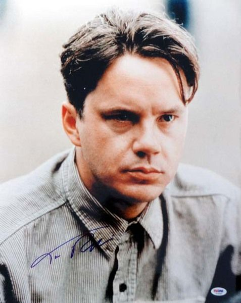 Tim Robbins Autographed 16x20 Photo Shawshank Redemption PSA/DNA
