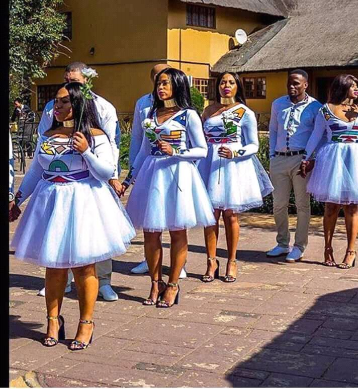 African Bridesmaid Dresses, African