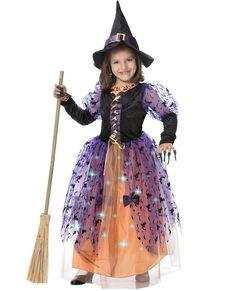 Kostium czarownicy dla dziewczynki