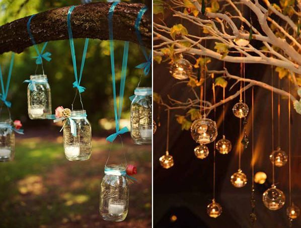 I think we can all agree that candles is a stunning and elegant touch to any wedding's decor. Here are some creative ways you can use candles to set the atmosphere. Inspiration for decor vendors and brides alike. Photo Credits: via Wedding Chicks/via Bo-ho Weddings/via Paper Blog/via Deer Pearl Flowers/ via Project Wedding/via Bridal Guide/via Elegant Wedding Invites/via Constance Zahn