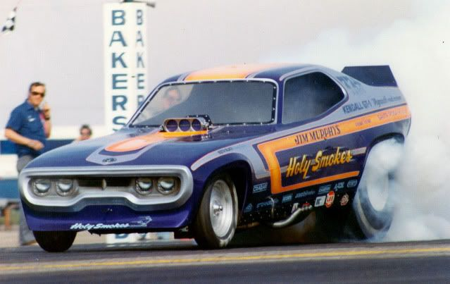 Classic Funny Car: Jim Murphy's Holy Smokes Funny Car...low Qualifier Of 6.34