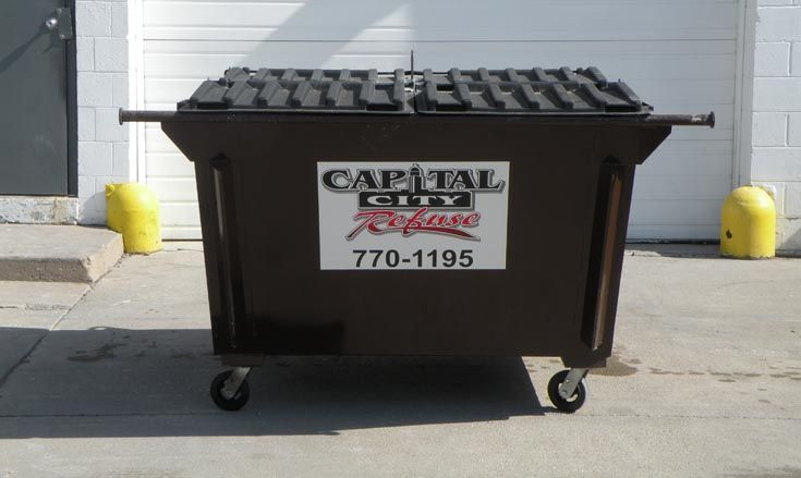 Capital City Refuse Inc Business Garbage Services Walton Ne 68461 Capital City Refuse Offers Com Dumpster Rental Garbage Service Garbage Recycling