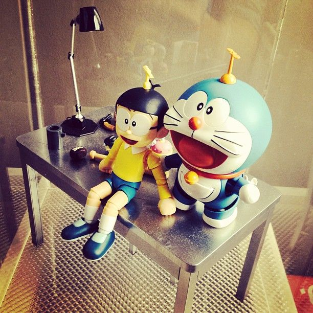 bandai doraemon and Nobita kung