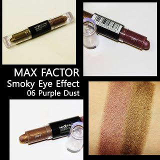 MichelaIsMyName: MAX FACTOR  Smoky Eye Effect 06 Purple Dust REVIEW...