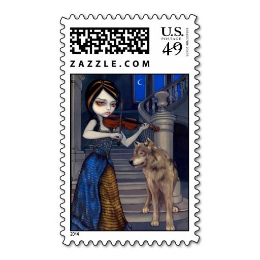 """Wolf Song"" Stamp"