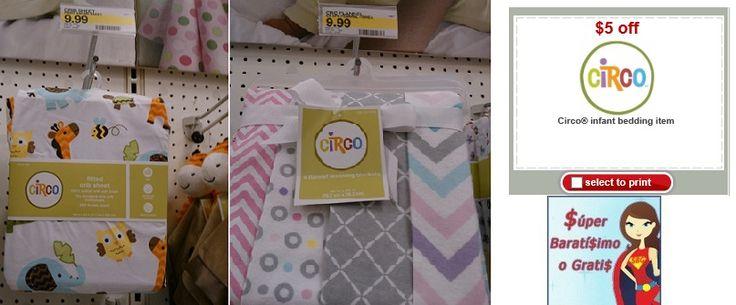 @Target: Mantitas para tu bebé de Circo súper baratísimo con cupón de target valor $5