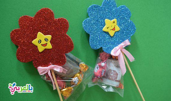 افكار توزيعات العيد جديدة وغير مكلفة عيديات توزيعات هدايا بالعربي نتعلم Novelty Christmas Crafts For Kids Christmas Ornaments