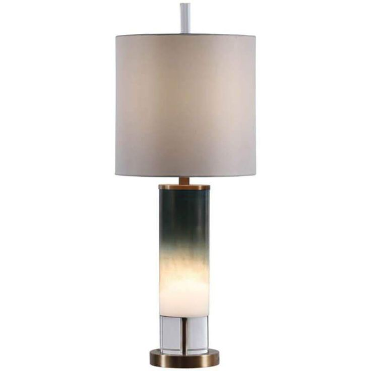 Wyatt Table Lamp With Nightlight Crystal Table Lamps Table Lamp Lamp